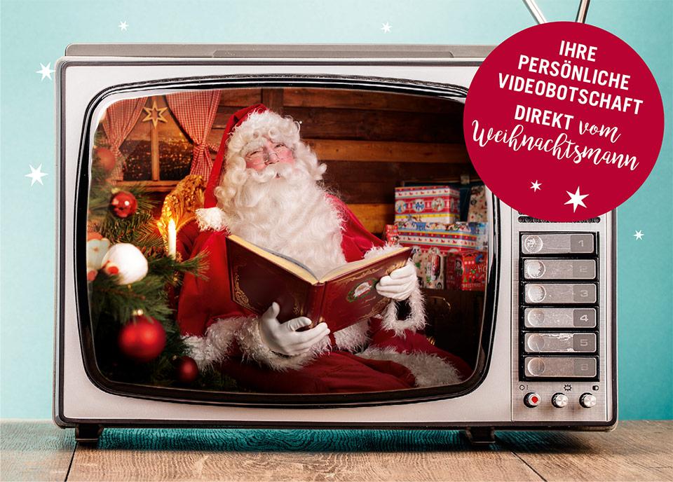 Ihre persönliche Videobotschaft vom Weihnachtsmann