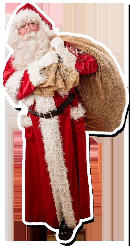 Der Weihnachtsmann Stuttgart kommt zu Besuch